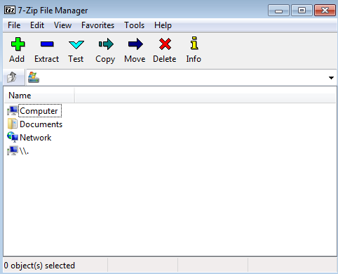 7 zip file manager