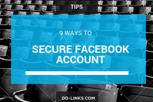 9 ways to secure your Facebook account