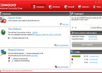 Download Comodo Internet Security a free and powerfull security suite