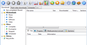 Free Download Manager interface