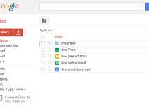 Google Docs a free web based office suite