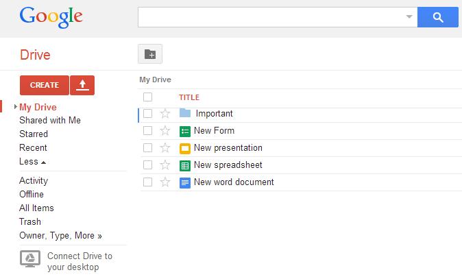 Google office suit docs