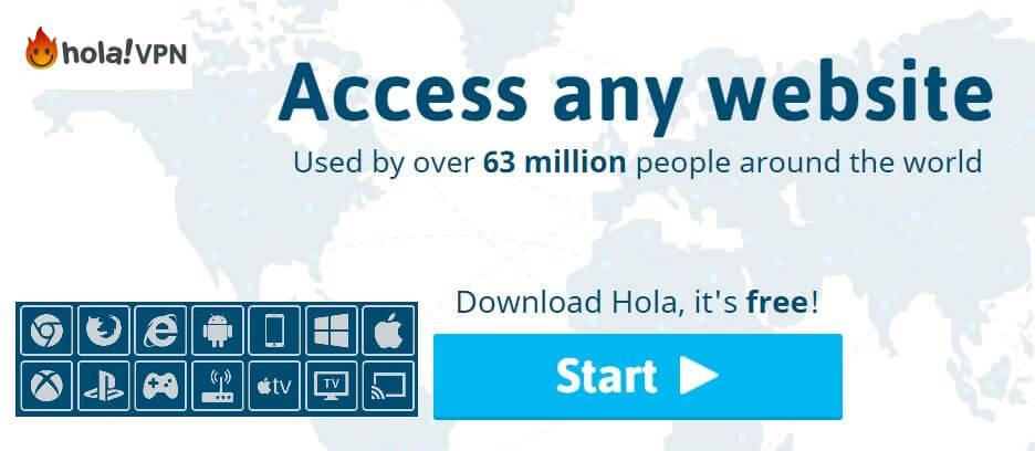Hola free VPN