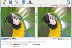 Compress and resize Images for the Web