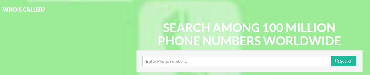 WHOIS caller ID