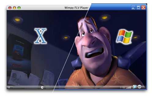 Wimpy Desktop FLV Player