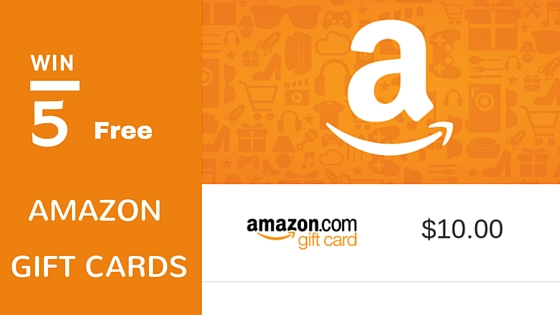 Win 5 free amazon gift cards
