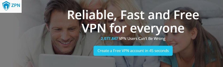 ZPN free VPN