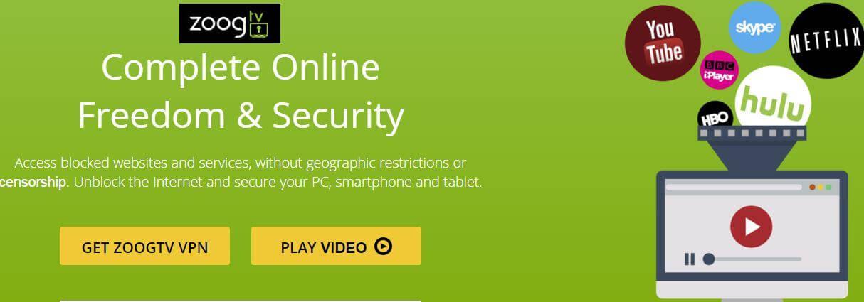 ZoogTV VPN free