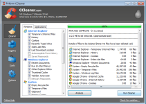 Fix registry errors and remove unused temporary files with ccleaner