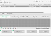 speed up hard drives using a Free Disk Defragmenter Smart Defrag