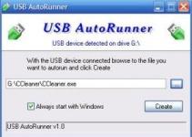 usb auto runner